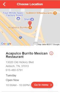 Acapulco Burrito Mexican Restaurant apk screenshot