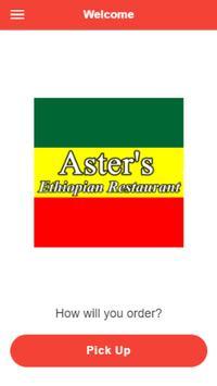 Aster's Restaurant poster