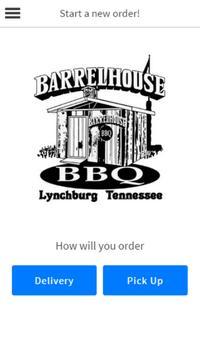 Barrel House BBQ poster