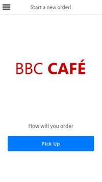 BBC Cafe poster