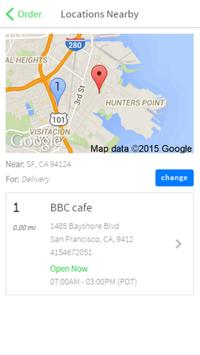 BBC Cafe screenshot 1