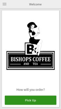 Bishops Coffee and Tea poster