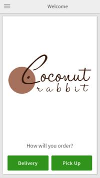 Coconut Rabbit poster