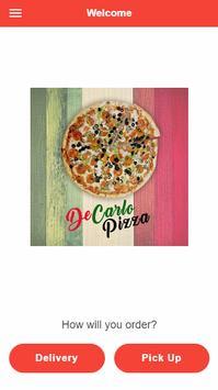 DeCarlo Pizza poster