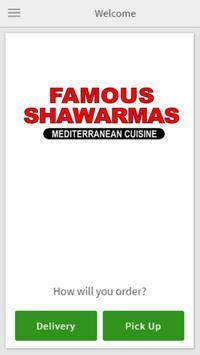 Famous Shawarma poster