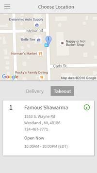 Famous Shawarma apk screenshot