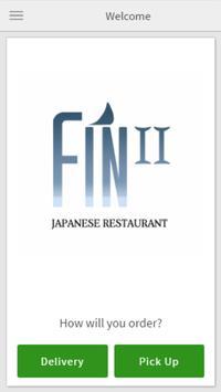 Fin Japanese Restaurant poster