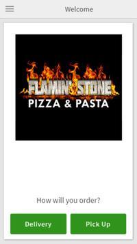 Flamin' Stone Pizza & Pasta poster
