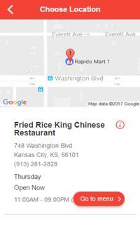 Fried Rice King Chinese screenshot 1