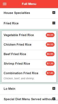 Fried Rice King Chinese screenshot 2