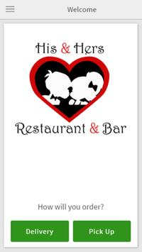 His & Hers Restaurant & Bar poster