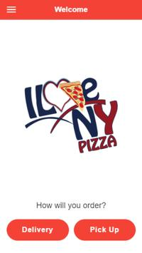I Love NYC Pizza poster