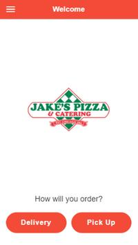 Jake's pizza poster