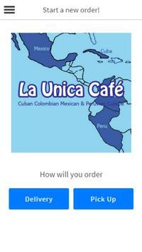 La Unica Cafe poster