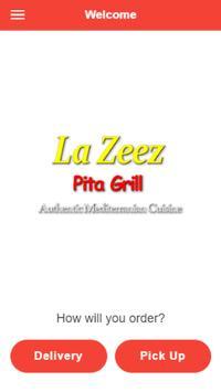 La Zeez Pita Grill poster