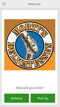 Morty's Delicatessen poster