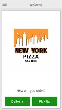 New York Pizza San Jose poster