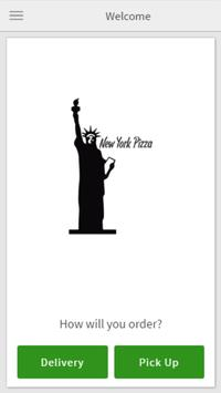 New York Pizza Ordering poster