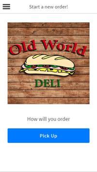 Old World Deli poster