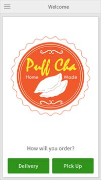 Puff Cha Cafe poster