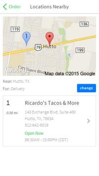 Ricardo's Tacos & More screenshot 1