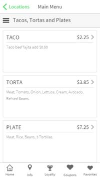 Ricardo's Tacos & More screenshot 2