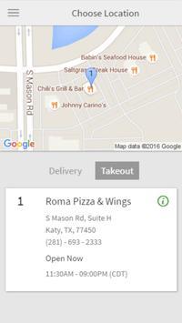 Roma Pizza & Wings apk screenshot