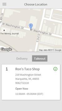 Ron's Taco Shop poster