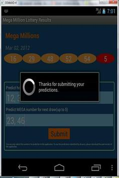Mega Millions Lottery Results apk screenshot