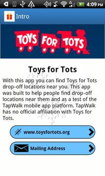 Toys for Tots MA apk screenshot