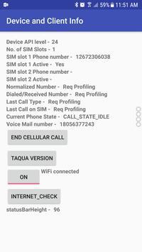 Helper apk call log apk screenshot