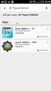 Juz' AMMA Recitation - MP3 apk screenshot