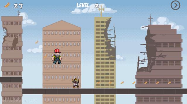 man run vs zombie screenshot 1
