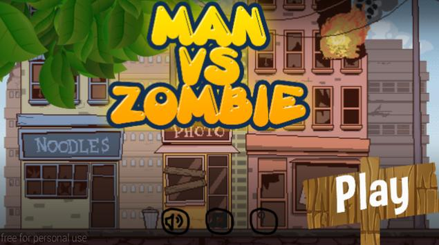 man run vs zombie screenshot 4