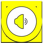 Speaker Sound booster icon