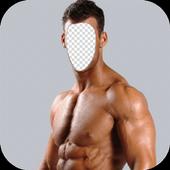 Vegan Body Builder Photo Editor icon
