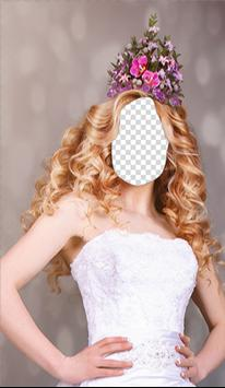 Wedding Hairstyle Photo Editor screenshot 3