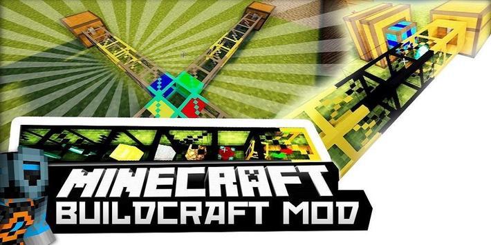 BuildCraft Mod poster