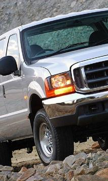 Jigsaw Puzzles Ford F250 poster