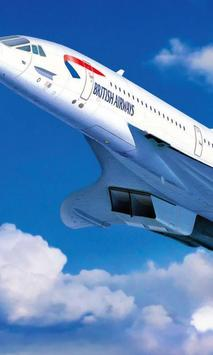 Aerospatiale BAC Concorde 102 Jigsaw Puzzle poster