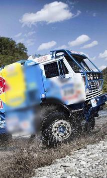 Puzzles Dakar Truck Best Top Class poster