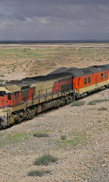 Morocco Railroad Jigsaw Puzzles Game poster
