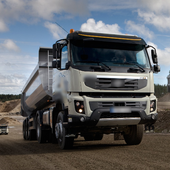 Puzzles Jigsaw Volvo FMX Truck Game icon