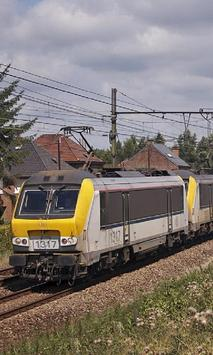 Railroad Belgium Jigsaw Puzzles Game apk screenshot