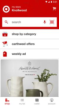 Target - now with Cartwheel poster