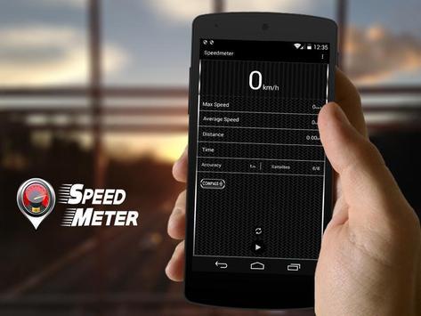 GPS Speedometer Gauge - Speed Tracker poster