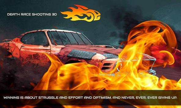Death Race Shooting 3D poster