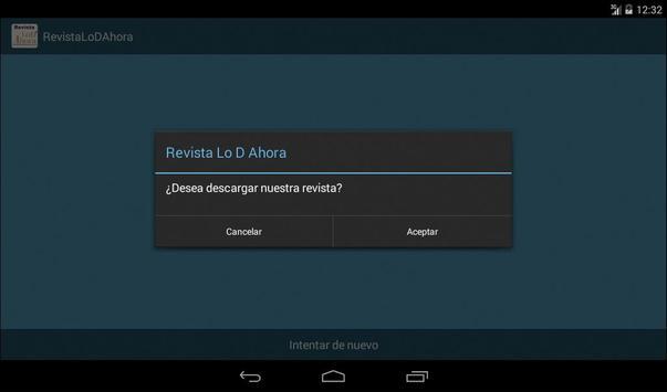 Lo D Ahora Revista apk screenshot