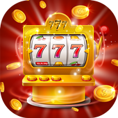 Lucky luck slot machine icon