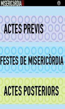 Festes Misericòrdia poster